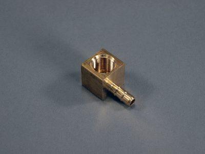 90° Barbed Boost Gauge Connector