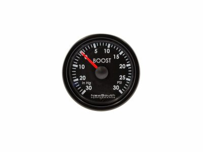 Indigo 30 in Hg 30 PSI Boost Gauge