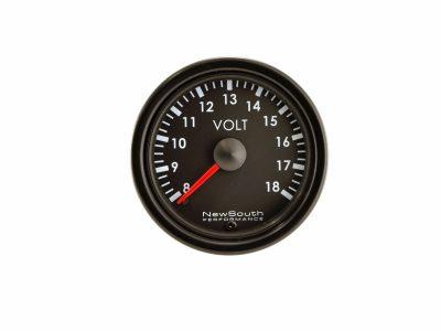 Indigo Voltmeter Gauge