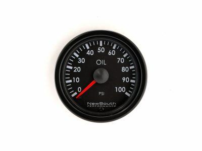 Indigo 100 PSI Oil Pressure Gauge