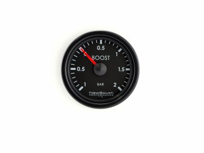 Indigo -1 to +2 Bar Metric Boost Gauge