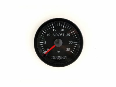 VW White 35 PSI Boost Gauge