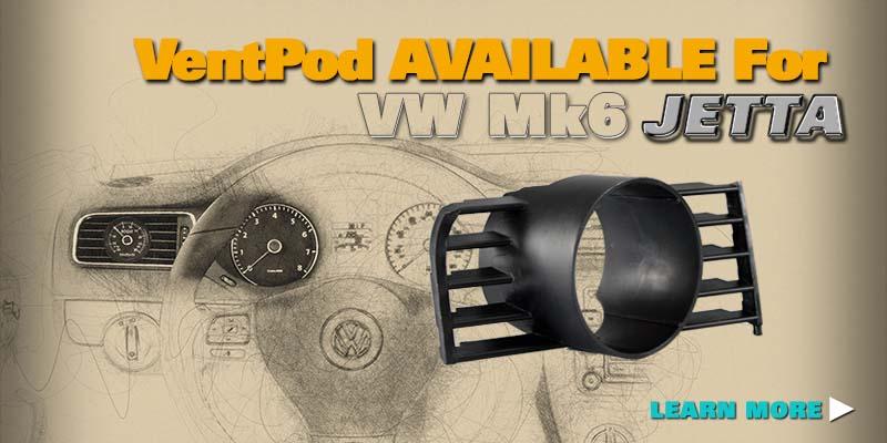 VW Mk6 Jetta VentPod flyer